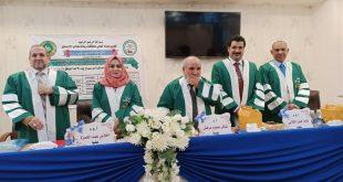 مشاركة الاستاذ المساعد الدكتور وليد جليل عبد في مناقشة الطالب علي عبد الحسين تقي في جامعة القاسم الخضراء